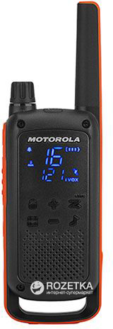 Рация Motorola Talkabout T82 Twin Pack & Chgr WE (B8P00811EDRMAW)